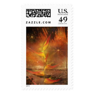 Costa Rica - Travel and Holiday Destination Postage