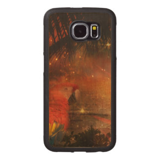 Costa Rica - Travel and Holiday Destination Wood Phone Case
