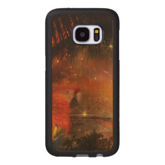 Costa Rica - Travel and Holiday Destination Wood Samsung Galaxy S7 Case