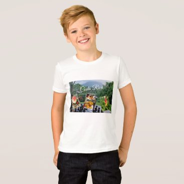 Beach Themed Costa Rica Travel Collection T-Shirt