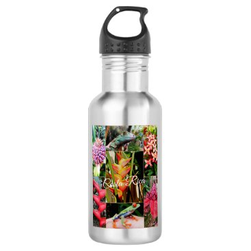 Costa Rica Travel Collection Water Bottle