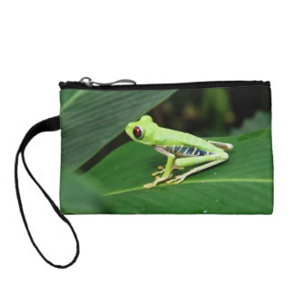 Costa Rica Tree Frog Coin Wallets