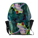 Costa Rica Tree Frog Courier Bags
