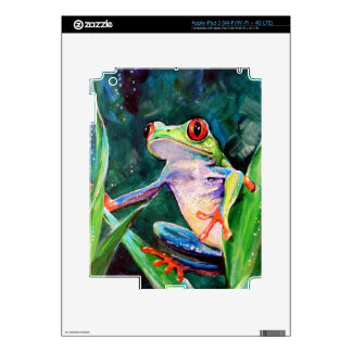 Costa Rica Tree Frog Decal For iPad 3