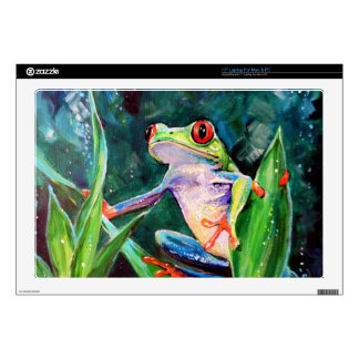 Costa Rica Tree Frog Decals For Laptops