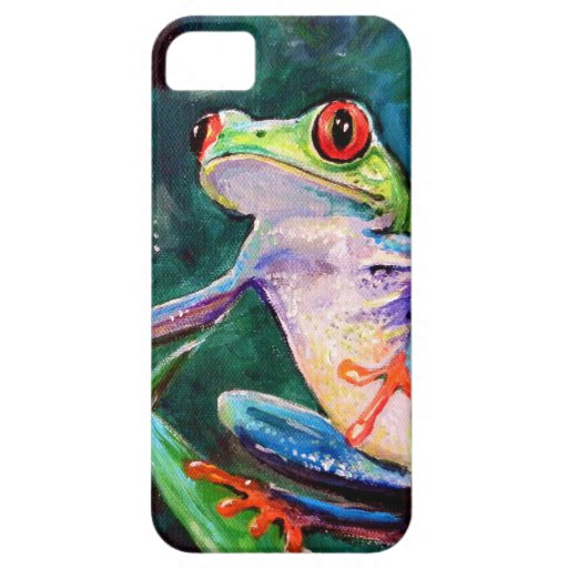 Costa Rica Tree Frog iPhone SE/5/5s Case