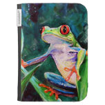 Costa Rica Tree Frog Kindle Folio Cases