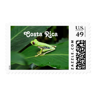 Costa Rica Tree Frog Postage