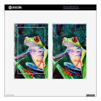 Costa Rica Tree Frog Skin For Kindle Fire
