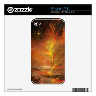 Costa Rica - Tropical Paradise Decal For iPhone 4S