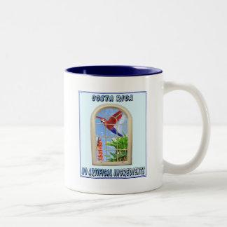 Costa Rica Two-Tone Coffee Mug