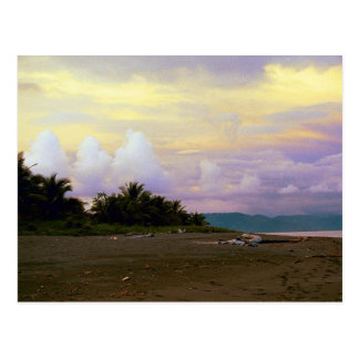 Costa Rica Vanilla Sky Postcard