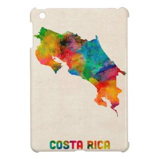 Costa Rica Watercolor Map iPad Mini Covers