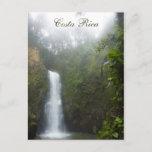 Costa Rica Waterfall Postcard