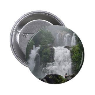 Costa Rica Waterfalls 2 Inch Round Button