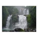 Costa Rica Waterfalls Postcard