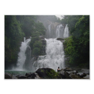 Costa Rica Waterfalls Poster