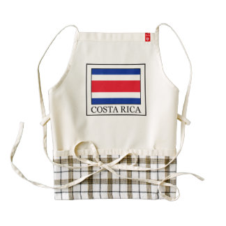 Costa Rica Zazzle HEART Apron