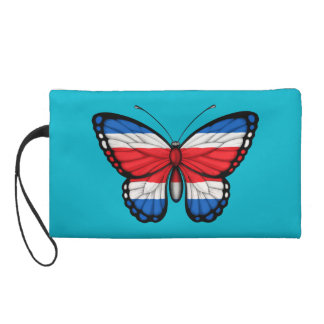 Costa Rican Butterfly Flag Wristlets