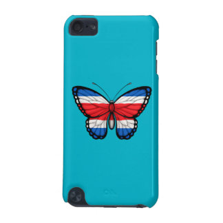 Costa Rican Butterfly Flag iPod Touch 5G Cases