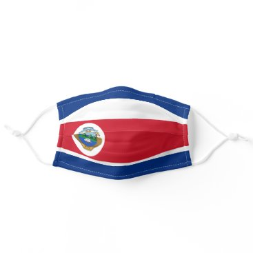 Costa Rican flag Cloth Face Mask