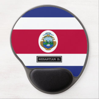 Costa Rican Flag Gel Mouse Pad