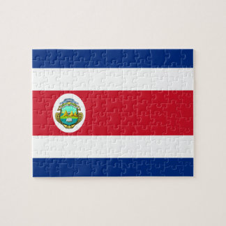 Costa Rican Flag Jigsaw Puzzle