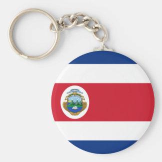 Costa Rican flag Keychain