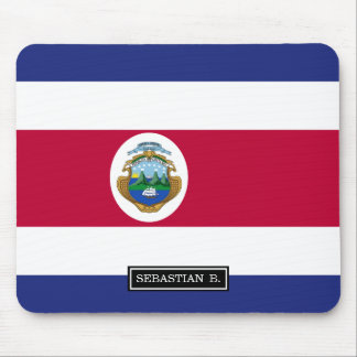 Costa Rican Flag Mouse Pad