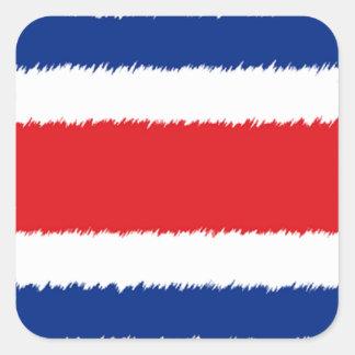 Costa Rican Flag Sticker