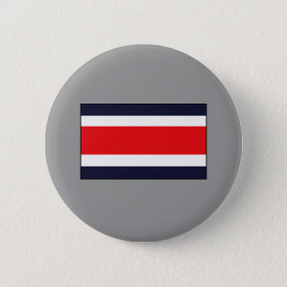 Costa Rican Flag T-shirts and Gifts Button