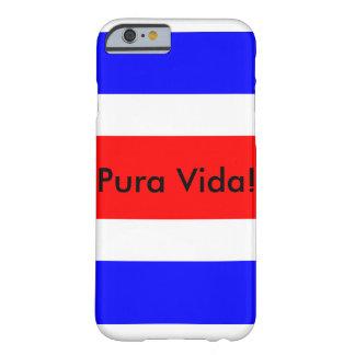 Costa Rican Flag with Pura Vida! iPhone 6/6s case