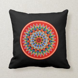 Costa Rican Folklore Art Pillows