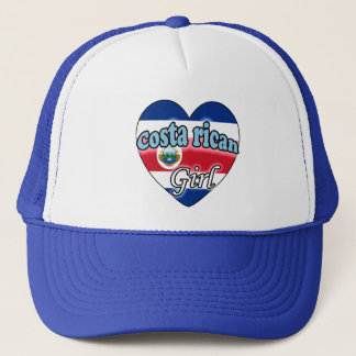Costa Rican Girl Trucker Hat