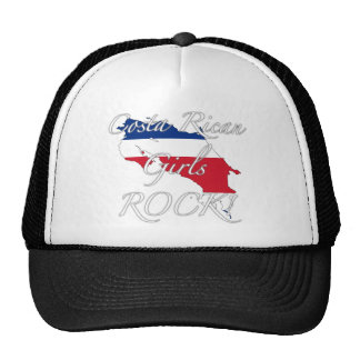 Costa Rican Girls Rock! Mesh Hat
