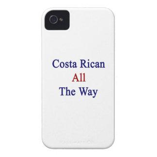 Costa Rican hasta el final iPhone 4 Case-Mate Cárcasas