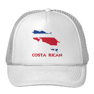 COSTA RICAN MAP TRUCKER HAT