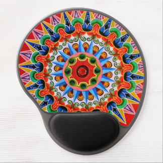 Costa Rican Oxcartwheel Art Gel Mousepad