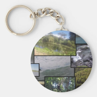 Costa Rican Places Basic Round Button Keychain