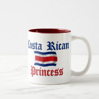 Costa Rican Princess Two-Tone Coffee Mug