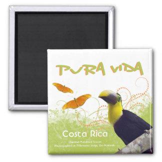 Costa Rican Pura Vida Magnet