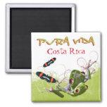 Costa Rican Pura Vida Magnet Magnet