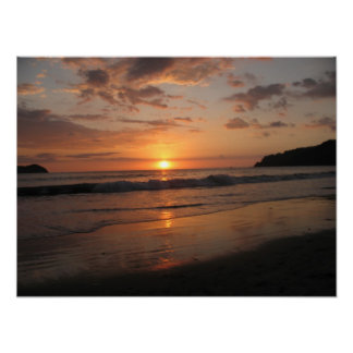 Costa Rican Sunset Posters