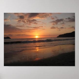 Costa Rican Sunset Print