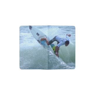Costa Rican Surfing Pocket Moleskine Notebook Cover With Notebook