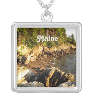 Costa rocosa de Maine