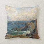 Costa rocosa, Gauguin, impresionismo del poste del Cojin