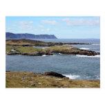 Costa rugosa de Donegal, postales de Irlanda