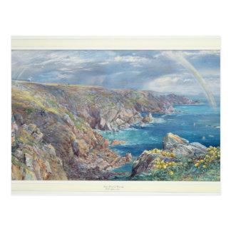 Costa sur de Guernesey del Cribiere, 1862 (w Postales