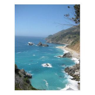 Costa Sur grande de California Postales